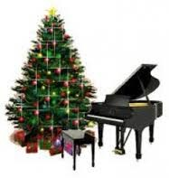 Easy piano Christmas music